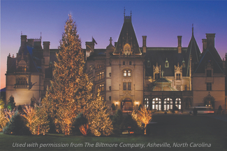 Asheville: Christmas at Biltmore